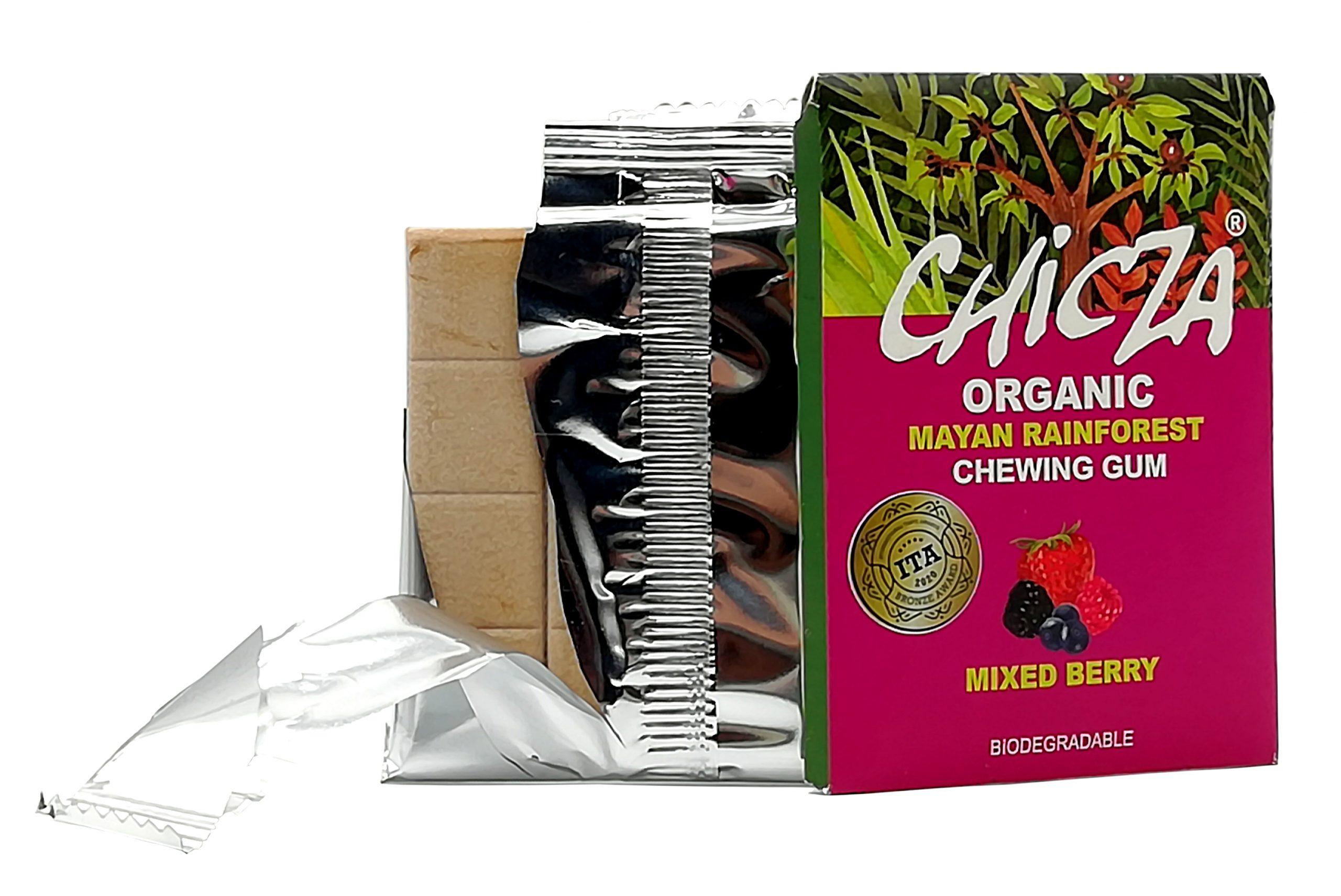 Organic Chicza Frutti Rossi